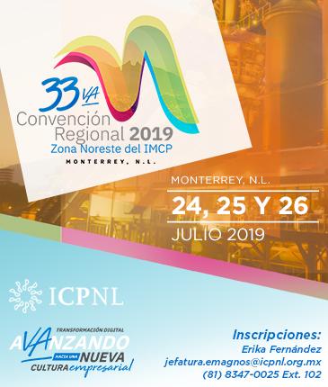 banner web celular 33va Convención Regional 2019